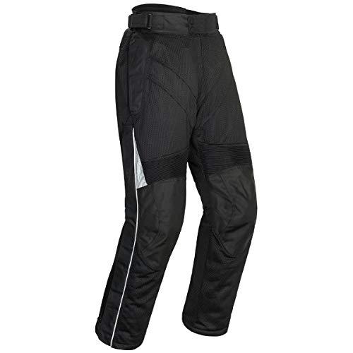 Tourmaster Venture Air 2.0 Men's Textile Motorcycle Pant (Black, Short Large)