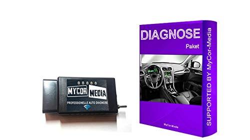 MyCor-Media WiFi Diagnose für Ford Mazda FORScan Focus Smax Mondeo Kuga CMax Mondeo WLAN