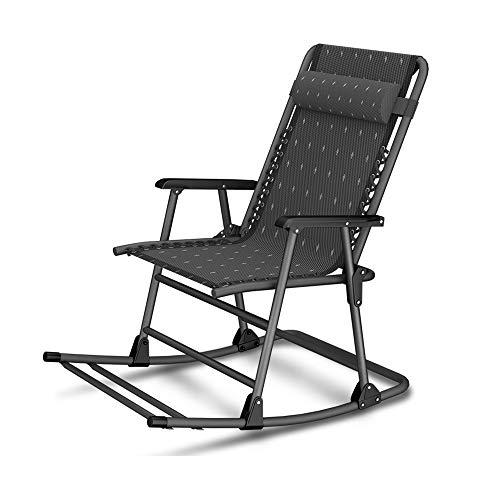 Fauteuils inclinables Feifei Chaise berçante Chaise Longue Pause-déjeuner Lit Pliant Chaise Longue Polyvalente Pliant