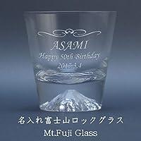名入れ 富士山グラス 田島硝子 Mt.Fuji Glass