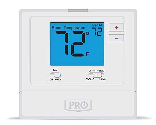 PRO1 IAQ Pro1 T721 Non-Programmable 2H/1C Heat Pump Thermostat