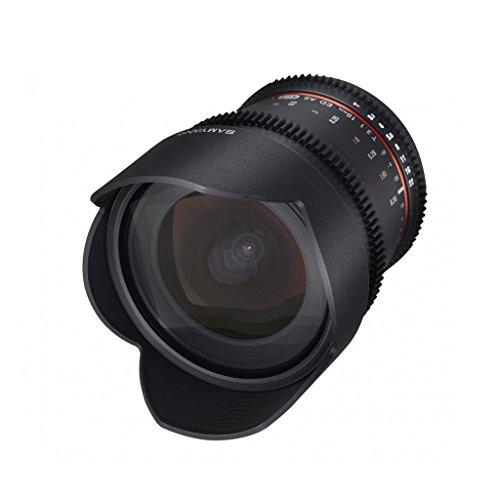 Samyang 10mm T3.1 ED AS NCS CS - Objetivo (14/9, Manual, 1 cm, 8,16 cm, 10,61 cm, 600g)