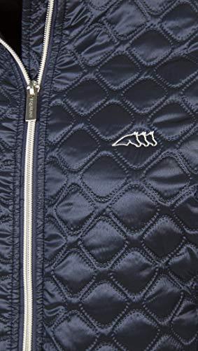 Equiline Alma in Blue - Giacca Trapuntata da Donna, XL