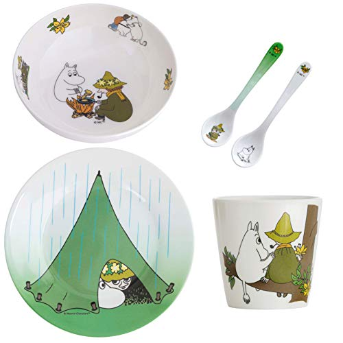 Rätt Start Mumin Camping - Vajilla infantil, multicolor