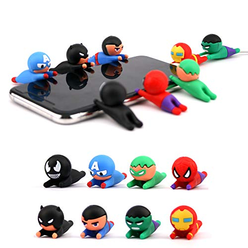 Axanbox Super Hero Cable Protector Saver Chewers for Kids