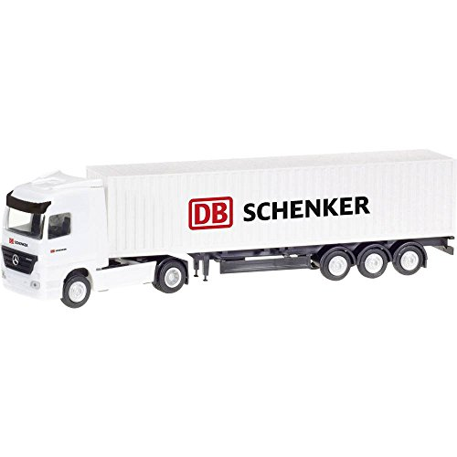 herpa 066686 Mercedes-Benz Actros LH Container-Sattelzug DB Schenker