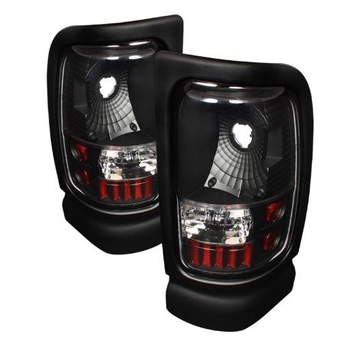 Spyder Auto ALT-ON-DRAM94-BK Dodge RAM Black Altezza Tail Light