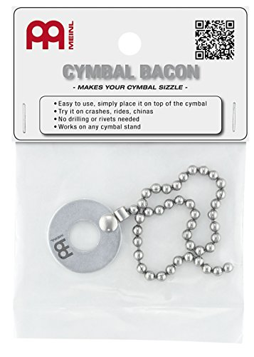 'Meinl Cymbals Bacon accessori piatti
