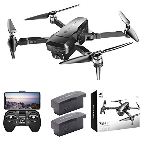 BRANDNEWS Tiandrive VISUO Zen K1 GPS 4K 5G Dual-Kamera-Drohne, 50-Fach Zoom-Drohne, Multifunktionale Faltbare Luftbildkamera