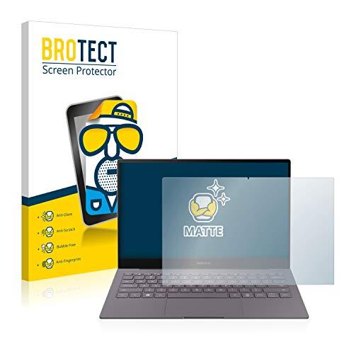 BROTECT Entspiegelungs-Schutzfolie kompatibel mit Samsung Galaxy Book S Bildschirmschutz-Folie Matt, Anti-Reflex, Anti-Fingerprint
