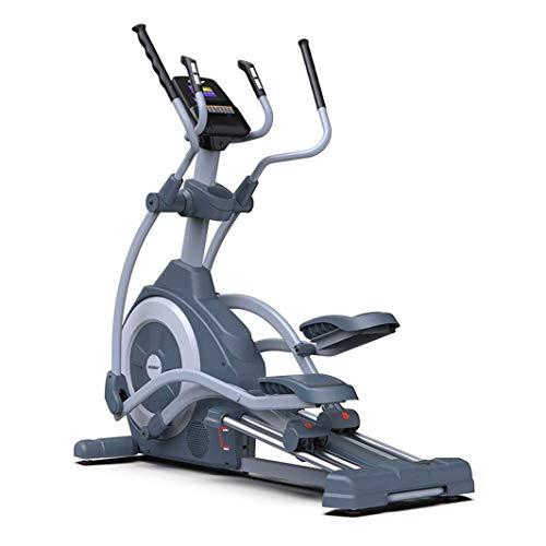 Máquina elíptica, Portátil Magnético Elíptica Cardio entrenamiento suave y silencioso de la máquina impulsada con el monitor digital de pantalla y la frecuencia del pulso Grips, for la seguridad del g