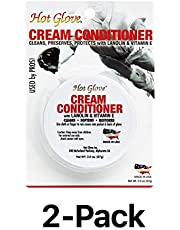 Unique Hot Glove Baseball Softball Leather Mitt Conditioner Cream (2-Pack)