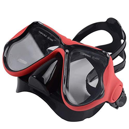 Siliconen masker duikbril van gehard glas