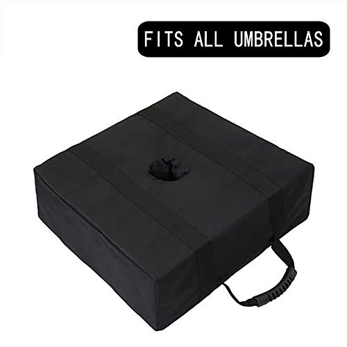 zunbo - Pie de sombrilla con base de paraguas, soporte de peso de base para exteriores, paraguas, 46 x 46 x 15 cm