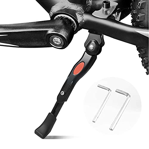 "BESTCAN Bicycle Kickstand, Adjustable Aluminum Alloy Bike Kickstand for 16""18""20""Mountain Bike/Road Bike/BMX/MTB/City Bike/Kids Bike/Sports Bike/Adult Bike"