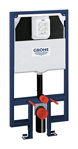 Grohe 38994000 Modulo con Cassetta per WC Sospeso per Pareti in Cartongesso, Multicolore