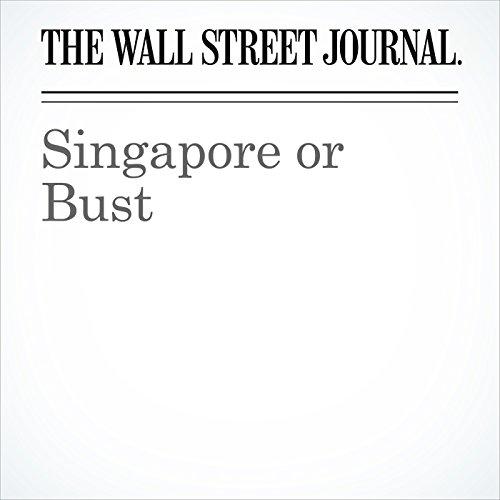 Singapore or Bust copertina
