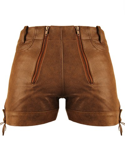 Bockle® Cracker Shorts Kurze Zimmermann Lederhose Leder, Size: W32/L30