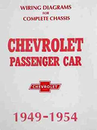 Amazon.com: 1954 Chevy Bel Air Wiring Diagrams: Books on