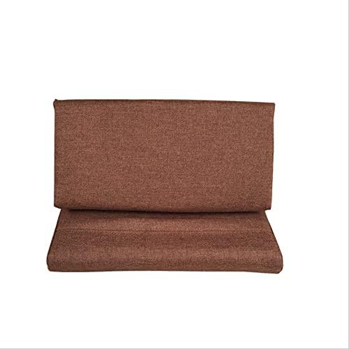 Soporte De Tablet A para iPad, Almohadilla De Almohada, Almohadilla Plegable, Almohadilla para Casa, Oficina, Viaje Color Curry