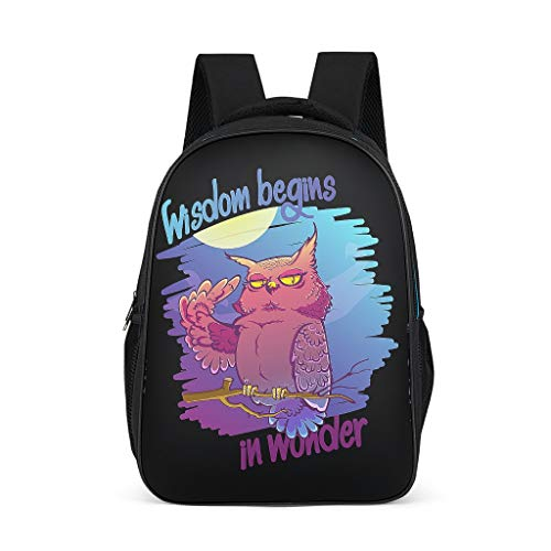 Unisex Backpack Backpack Bags Casual Daypacks 3D Cartoon Patterns Shoulder Bags High-grade Materials Teenage Bags For Travel Camping grey onesize