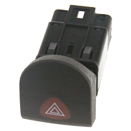 Bouton de commutation Interrupteur feux de détresse Avertissement Feu de danger Panneau de bord ABS