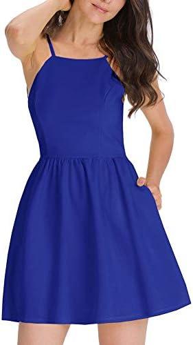 Royal blue dresses short _image4