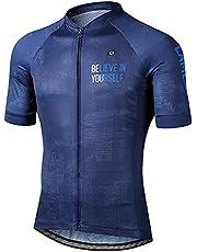LAMEDA Maillot Ciclismo Hombre Verano Ropa Ciclista Hombre Poliéster 100% Transpirable