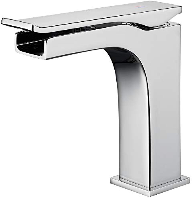 Badarmatur waschtischarmaturSXBB Falls Facial Basin Faucet Faucet Faucet Faucet Faucet Faucet,Silber