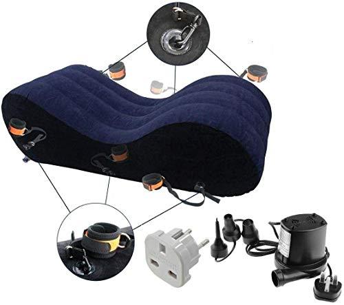 Watagift Ltd Sedia per divano Tantra + pompa elettrica dimensioni 150 * 50 * 40 cm (Spina UK e adattatore per spina EU inclusi)