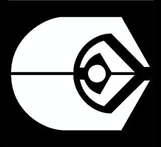 CCI Ferengi Alliance Star Trek Alpha Quadrant Ascendancy Decal Vinyl Sticker|Cars Trucks Vans Walls Laptop|White |5.5 x 4.5 in|CCI1922