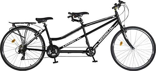 TWIN Tandem, Fahrrad für 2 Personen, schönstes Design, Luxus 151483