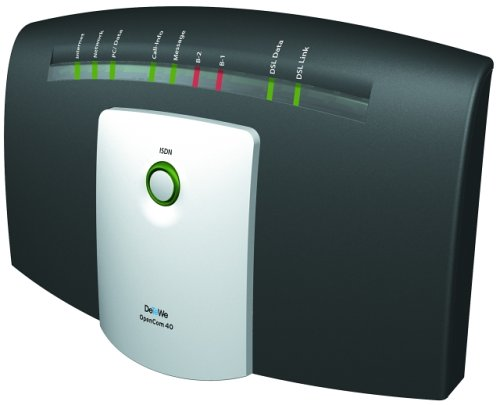 DeTeWe OpenCom 40dsl, Internet TK-Anlage mit DSL/ISDN Internet-Access-Router