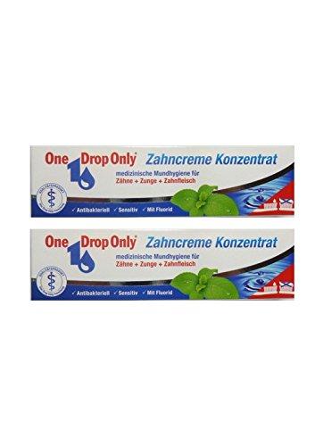2x One Drop Only Zahncreme Konzentrat 25ml Antibakteriell Zahnpasta, Toothpaste