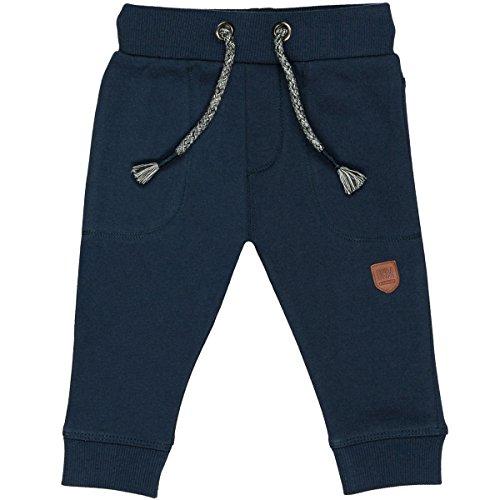 Staccato Unisex Baby Jogginghose | Kordelzug Marine | elastische Rippbündchen Größe 74 für Jungen und Mädchen