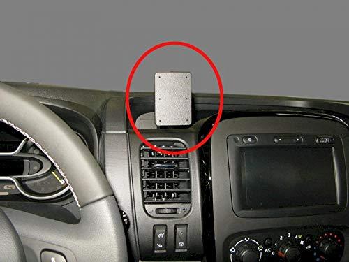 Brodit 855261 Coche - Soporte (Teléfono móvil/Smartphone, Coche, Soporte pasivo, Negro, Acrilonitrilo butadieno estireno (ABS), De plástico, Montaje de Abrazadera)