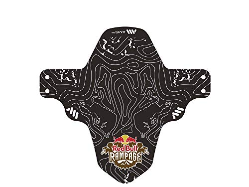 All Mountain Style Guardabarros Delantero – Compatible 26'',27.5'',29'', Tallas Plus y Ruedas Fat Bike, Unisex-Adult, X Red Bull Rampage Blanco, Universal