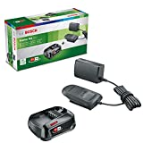 <span class='highlight'><span class='highlight'>Bosch</span></span> Home and Garden 1600A020RW <span class='highlight'><span class='highlight'>Bosch</span></span> Battery and Charger Starter Set PBA 18 V (18 V System, 2.5 Ah Battery, Charger, in Cardboard Box)
