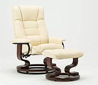 Best leather swivel chair with ottoman Reviews