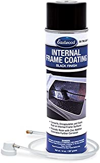 Eastwood Internal Chassis Frame Black Coating 14 oz with Spray Nozzle Remove Rust Corrosion