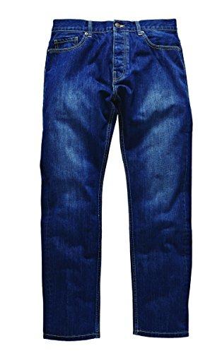 Dickies Herren Straight Leg Jeanshose Michigan, Gr. W31/L32 (Herstellergröße: 31R), Blau (Stonewash STW)