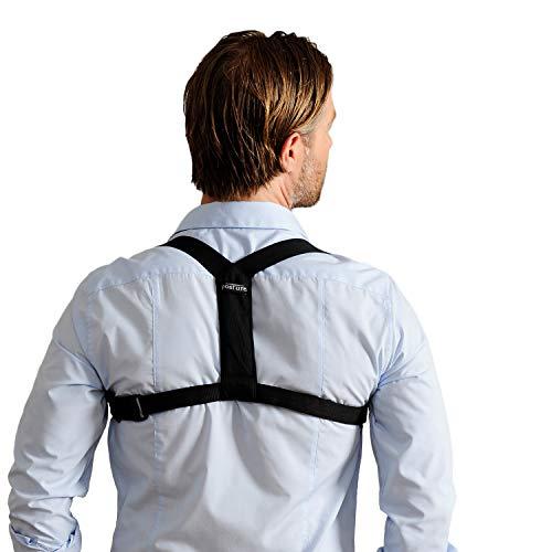 Swedish Posture® Flexi Geradehalter & Rückentrainer | sofort bessere Körperhaltung | weniger Rücken- & Schulterschmerzen | zur Physiotherapie, gegen Arthrose & Impingement