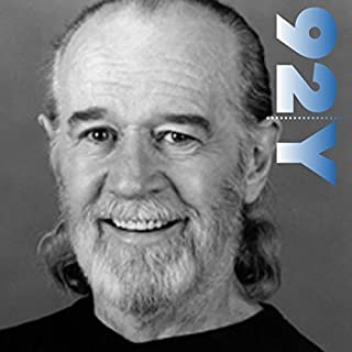George Carlin with Judy Gold at the 92nd Street Y audiobook cover art