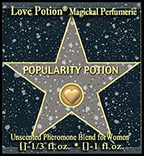 Love Potion®: POPULARITY POTION – UNscented Pheromone Blend for Women – 1/3 Fl Oz.