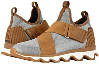 SOREL(ソレル) レディース 女性用 シューズ 靴 スニーカー 運動靴 Kinetic Sneak - Camel Brown/Sea Salt [並行輸入品]
