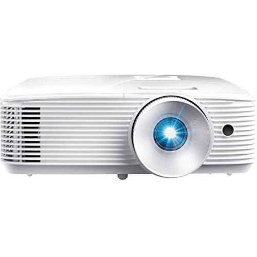Optoma X343 XGA DLP Professional Projector | Bright 3600 Lumens | Business Presentations, Classrooms, or Home | 15,000 Hour Lamp Life | Speaker Built In | Portable Size