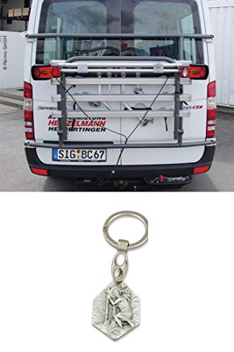 Zisa-Kombi Euro Carry - Portabicicletas Trasero para Sprinter y Crafter a Partir de 06, con Remolque Hlg. Cristóbal