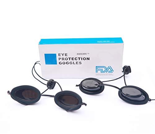 Light therapy tanning Eyewear