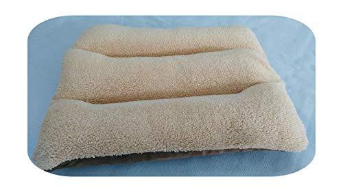 Petsupplies Dogs Kennel Plush Dog Mattress Puppy Cat Sleeping Pad Winter Warm Pet Bed Mat Thicken Fleece Large Dogs Cushion Blanket-C-M 75X50Cm