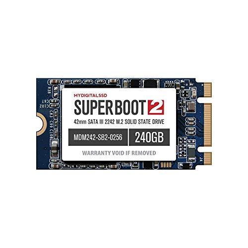 MyDigitalSSD Super Boot 2 (SB2) 42 mm (2242) SATA III (6G) M.2 NGFF SSD Solid State Drive (256 GB (240 GB))